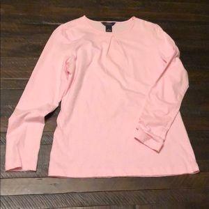 Beautiful blush pink Brooks Brothers blouse